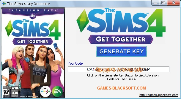 The_Sims_4_Get_Together_Keygen