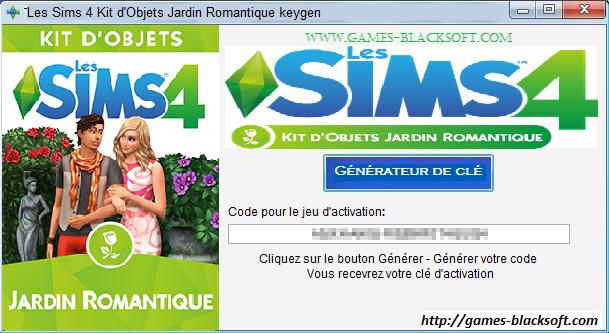 Les_Sims_4 Kit_d'Objets_Jardin_Romantique_Télécharger_Jeu_Complet