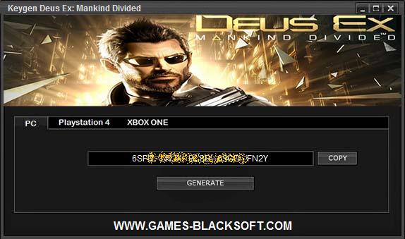 Deus-Ex-Mankind-Divided-Generateur-de-cle-keygen