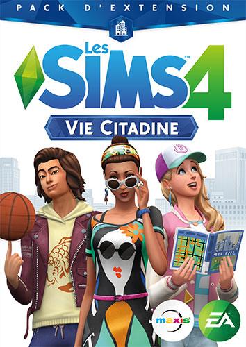 Les-Sims-4-Vie-Citadine-Generateur-de-cle-Keygen