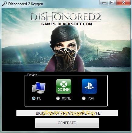 dishonored-2-Keys-Codes-Free