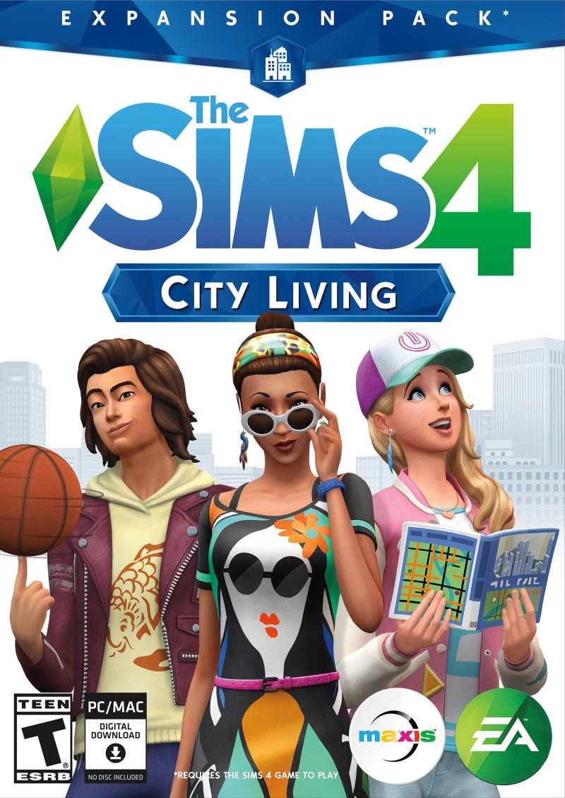 The-Sims 4-City-Living-Origin-key