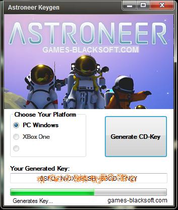 Astroneer-Keygen-code-generator