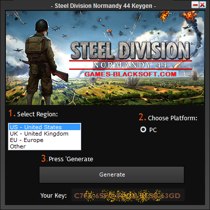 Steel-Division-Normandy-44-Serial-Key-Generator