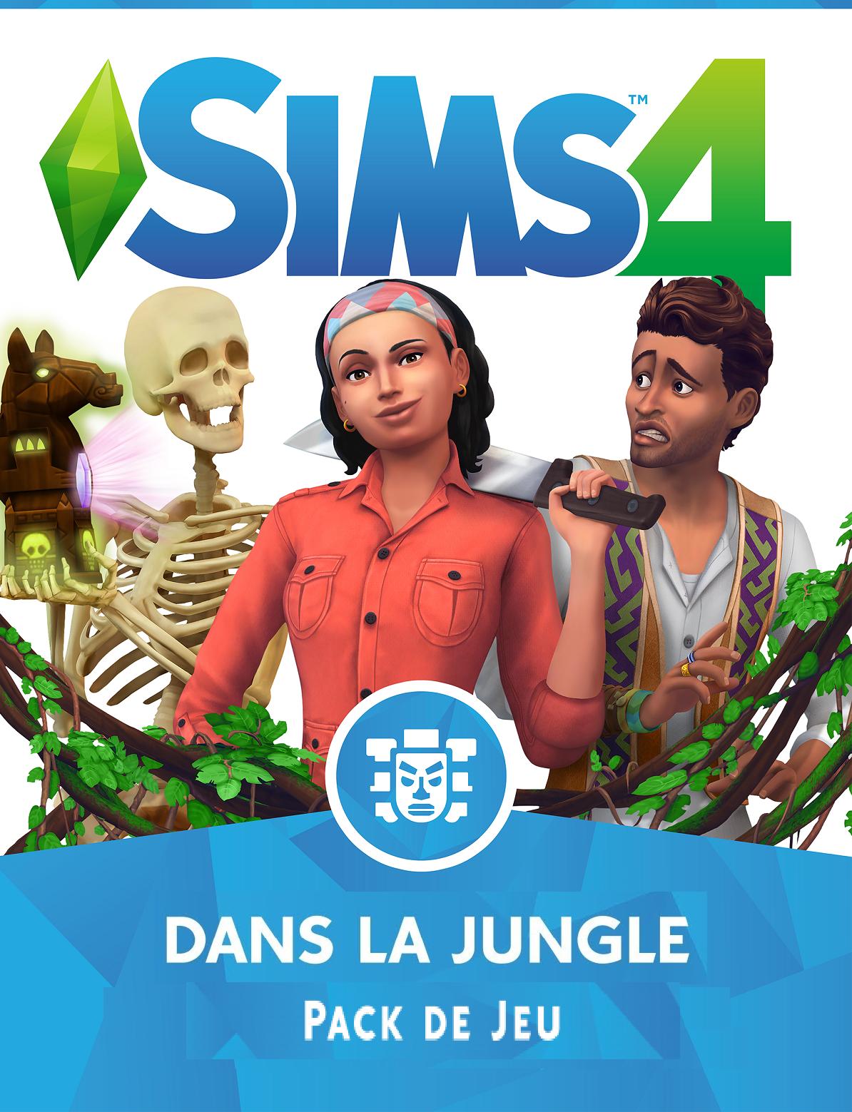 Les-Sims-4 Dans-la-Jungle-cle-de-licence