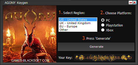 Agony-Serial-Keys-download