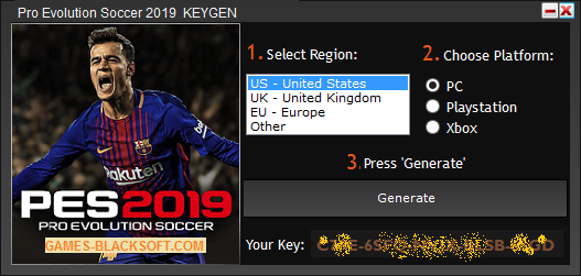Pro-Evolution-Soccer-2019-Serial-Keys-download