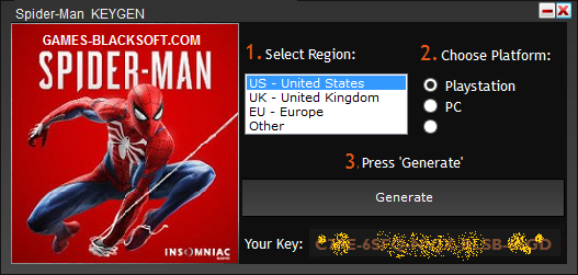 SPIDER-MAN-Serial-Keys-download