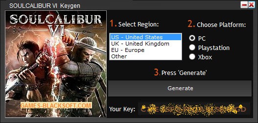 SOULCALIBUR-VI-Serial-Keys-download