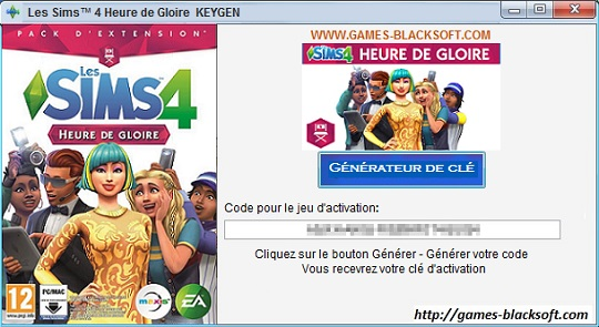 Les-Sims-4-Heure-de-gloire-CD-cle-d-activation-numero-de-serie