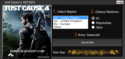 Keygen Just Cause 4 Serial Number Key Crack Pc Keygen Crack Software
