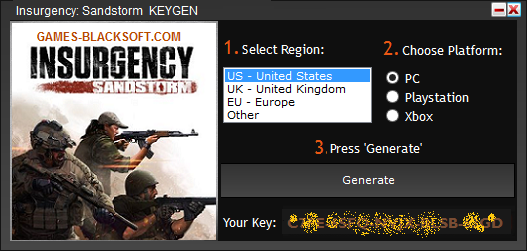 Insurgency-Sandstorm-Serial-Keys-download