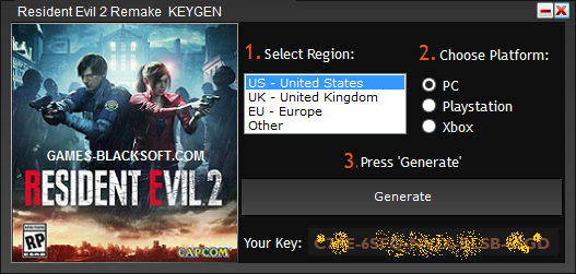 Resident-Evil-2-Remake-Serial-Keys-download