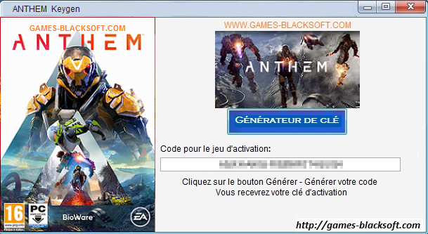 Anthem-CD-cle-d-activation-numero-de-serie