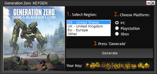 Generation-Zero-Serial-Keys-download