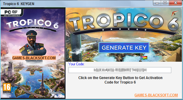 Tropico 3 serial key generator free