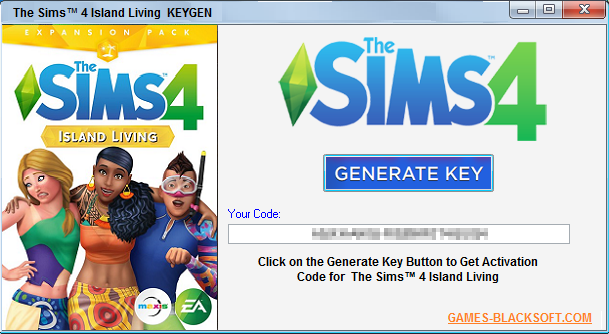 The-Sims-4-Island-Living-Serial-Keys-download