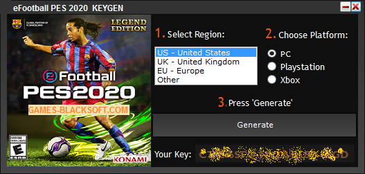 eFootball-PES-2020-Serial-Keys-download