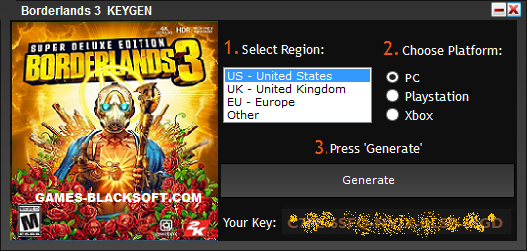 Borderlands-3-Serial-Keys-download