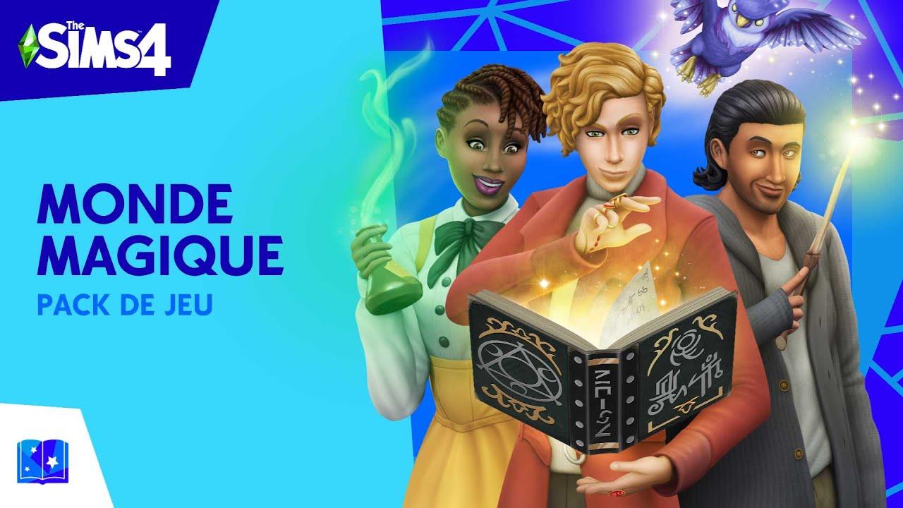 Les-Sims-4-Monde-Magique-cle-de-licence