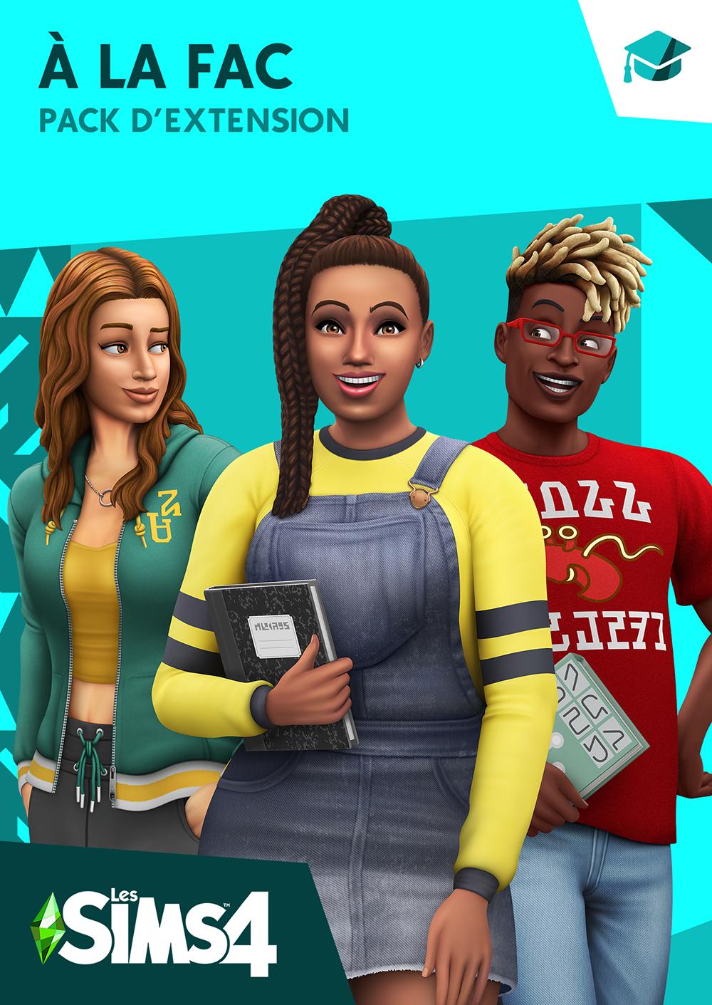 Les-Sims-4-A-la-Fac-cle-de-licence
