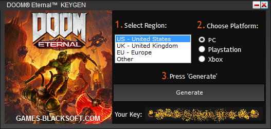 DOOM-Eternal-Serial-Keys-download