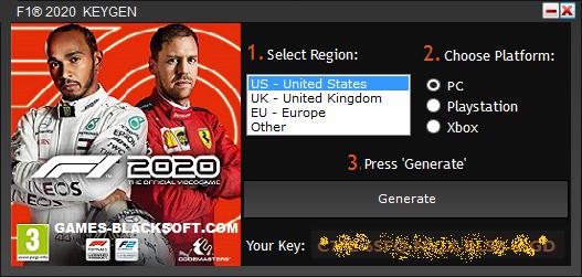 F1-2020-Serial-Keys-download