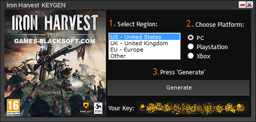 Iron-Harvest-activation-keys-and-full-game