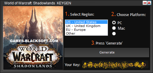 World-of-Warcraft-Shadowlands-Serial-Keys-download
