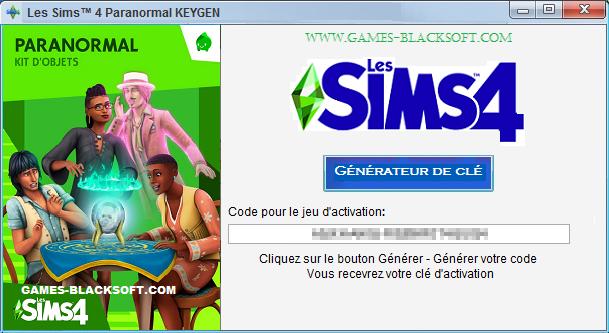 Les-Sims-4-Paranormal-Keygen-les-cles-d-activation