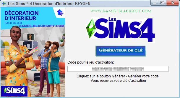 Les-Sims-4-Decoration-d-interieur-Keygen-les-cles-d-activation