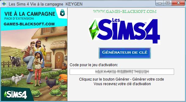 Les-Sims-4-Vie-a-la-campagne-Keygen-les-cles-d-activation